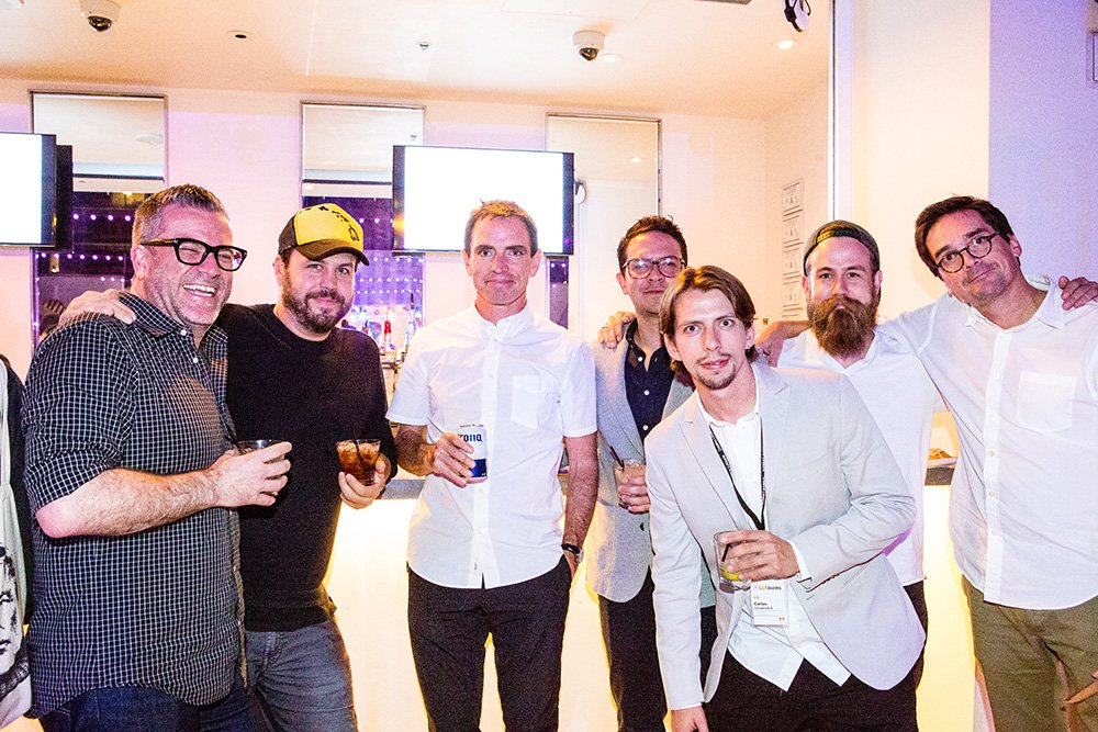 Creative LIAisons attendees at the 2015 LIA Party