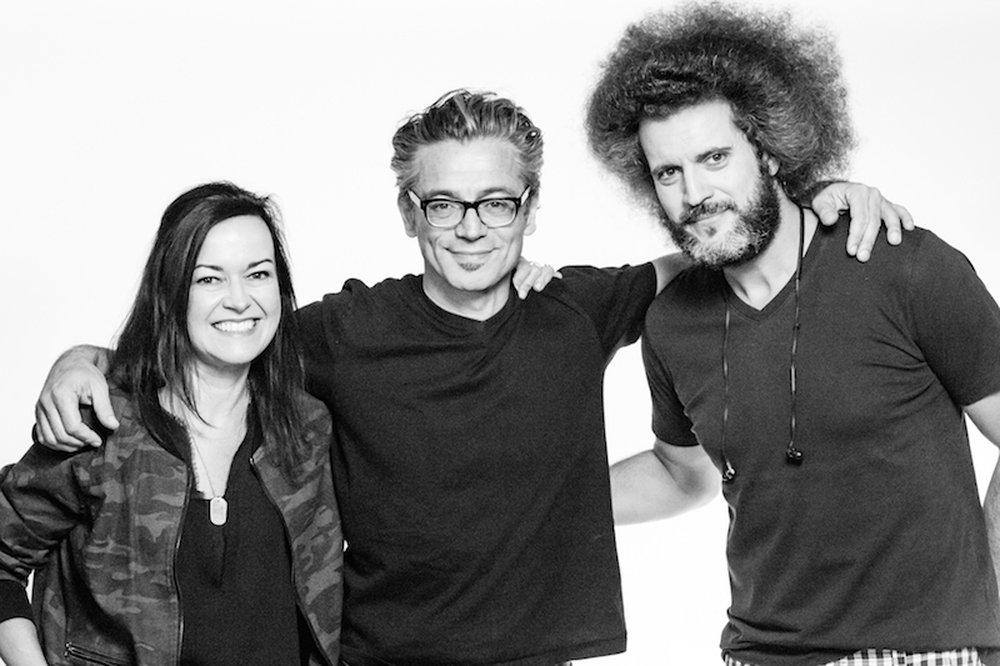 Vanessa Fortier, Toygar Bazarkaya (Jury President) & Hugo Rodrigues - LIA TV/Cinema/Online Film Jurors