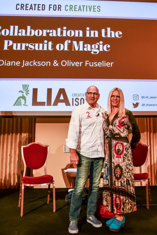 Pliver Fuselier and Diane Jackson