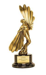 Gold LIA Statue